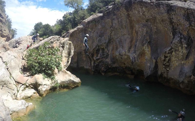 deportes de aventura en la sierra de guara con guaranatura descenso de barrancos 01