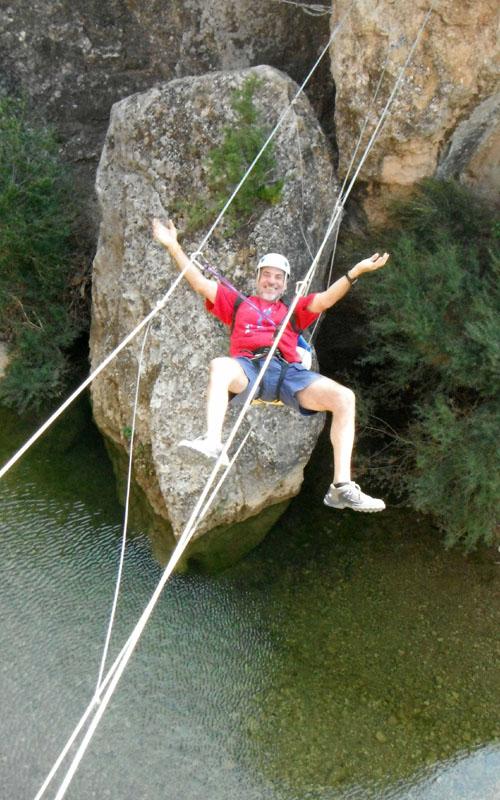 deportes de aventura en la sierra de guara con guaranatura vias ferratas 06