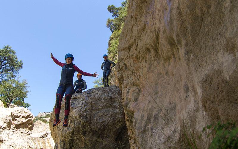 aventura y seguridad descenso barrancos