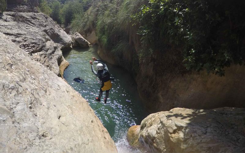 barranco Formiga cayoning Sierra de Guara
